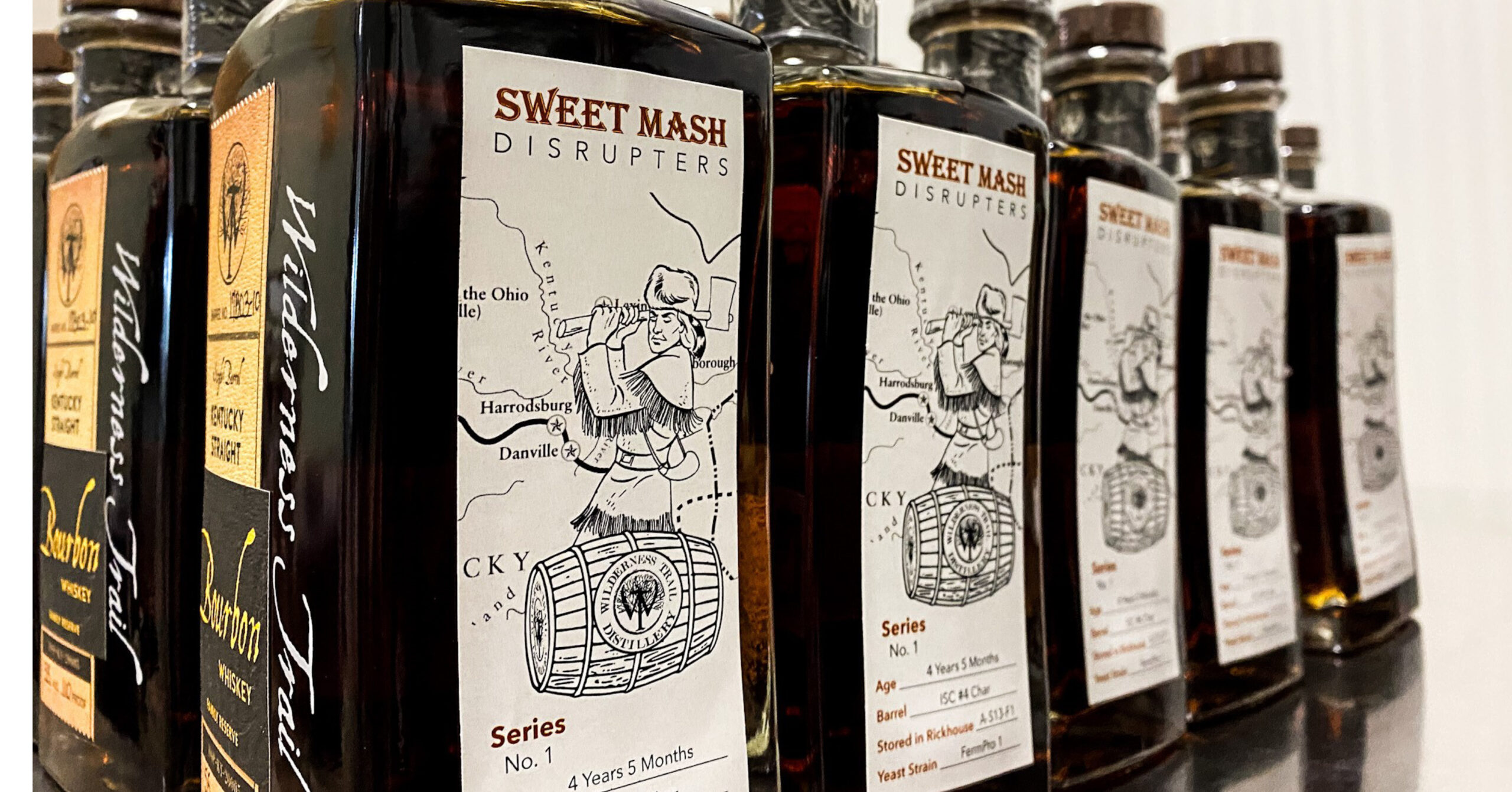 A special barrel pick is available to Wilderness Trail Kentucky Bourbon Trail visitors.